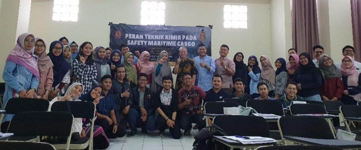Kuliah Tamu : Peran Lulusan Teknik Kimia Dalam Dunia Maritim