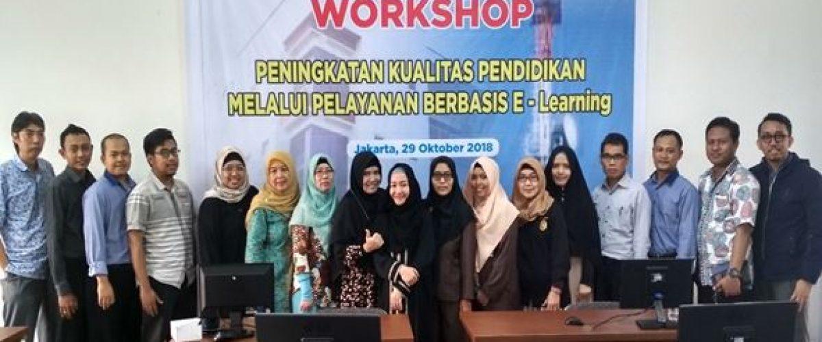 Pemaparan E-Learning Bagi Mahasiswa FTIUJ