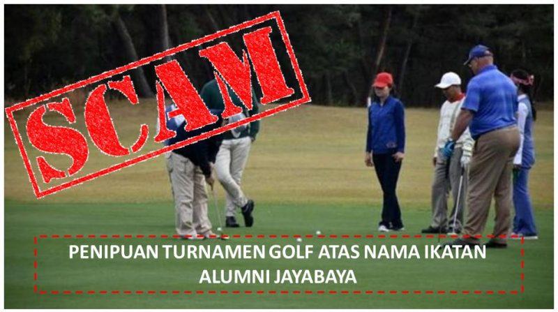 Awas!! Penipuan Turnamen Golf Mengatasnamakan Ikatan Alumni Jayabaya