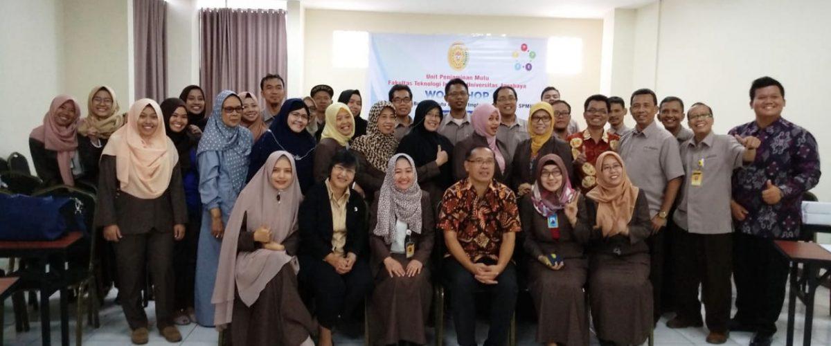 """Tingkatkan Mutu Prodi, Fakultas Teknologi Industri Universitas Jayabaya Selenggarakan workshop yang bertemakan """"Membangun Budaya Mutu melalui Implementasi Siklus SPMI"""""""