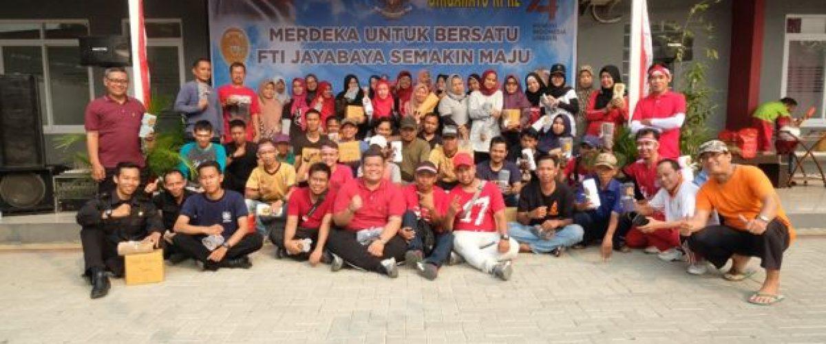 PERAYAAN HARI KEMERDEKAAN  REPUBLIK INDONESIA KE-74 FAKULTAS TEKNOLOGI INDUSTRI UNIVERSITAS JAYABAYA