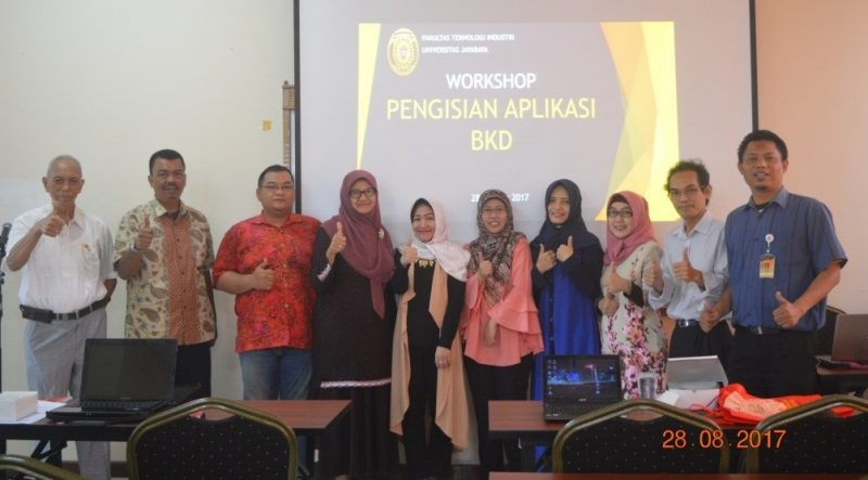 Workshop Pengisian Aplikasi BKD