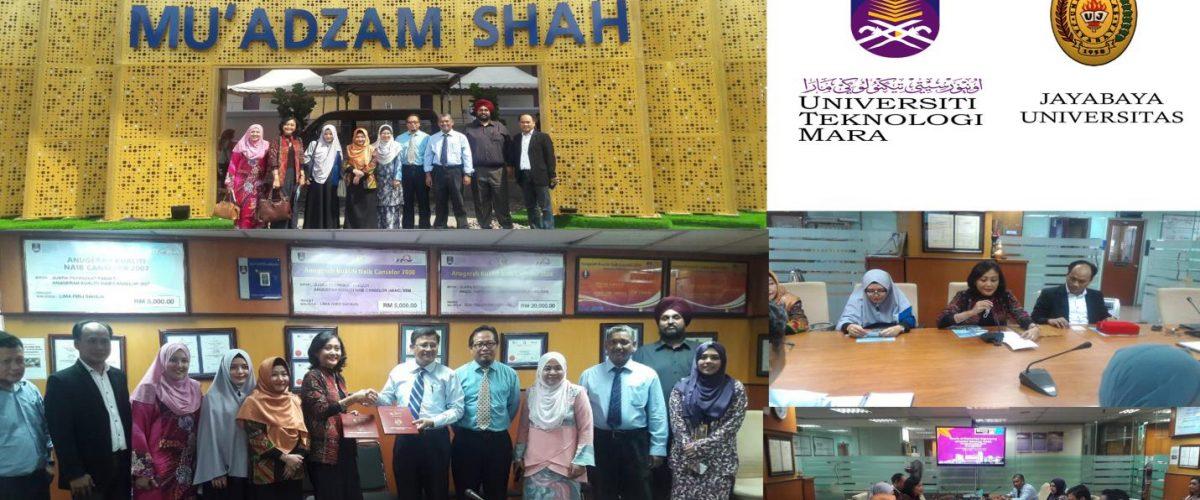 Kerjasama FTI Universitas Jayabaya dengan UiTM - Malaysia