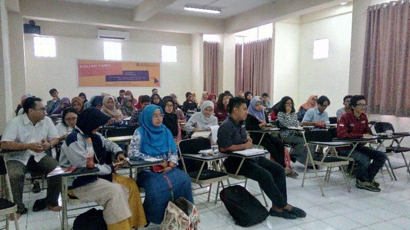Kuliah Tamu Program Studi Teknik Kimia
