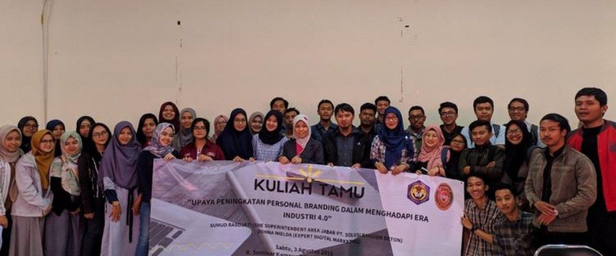 Workshop Guru Tamu Dengan Tema Personal branding 4.0