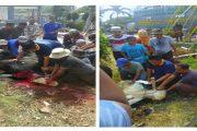 FTI Universitas Jayabaya Membagikan Daging Qurban Pada Warga Sekitar