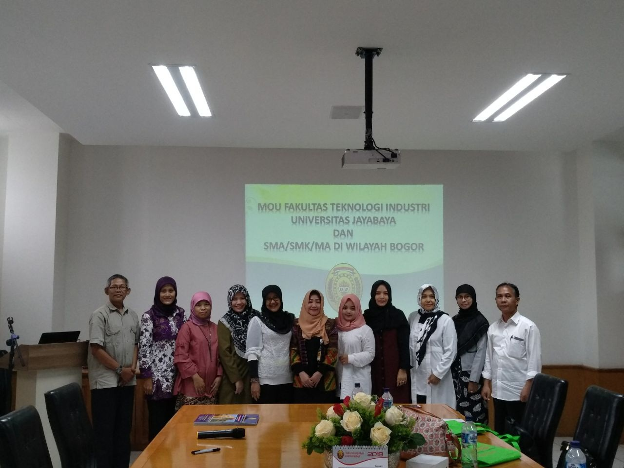 Mou FTI Universitas Jayabaya Dengan Sekolah di Area Bogor
