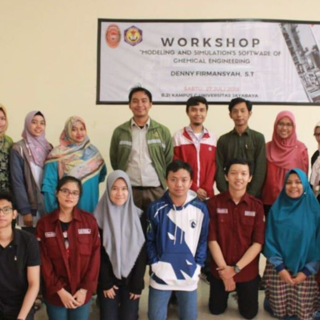 "Workshop ""Modelling and Simulation of Chemical Engineering Software"" di Program Studi Teknik Kimia FTI-Universitas Jayabaya"