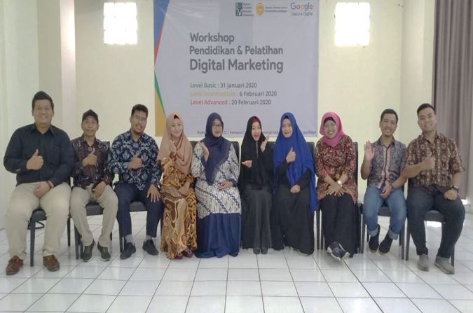 Acara digital marketing milik FTI Jayabaya
