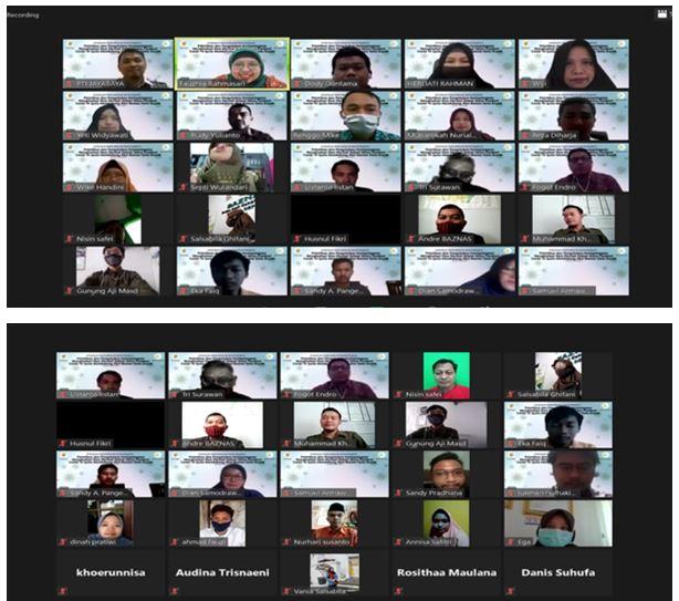 webminar jayabaya pelatihan pembuatan face mask
