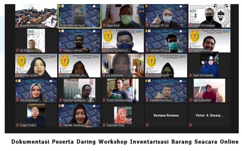 Workshop Inventarisasi Barang Secara Online di Fakultas Teknologi Industri Universitas Jayabaya